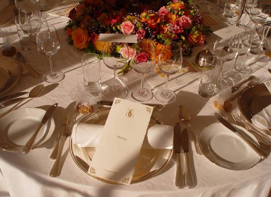 Alt til bordet.